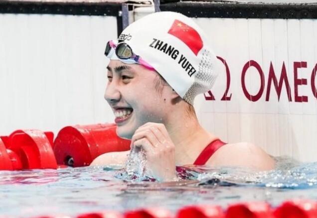 奥运双冠+双世界纪录 中国游泳新旗手就是张雨霏!