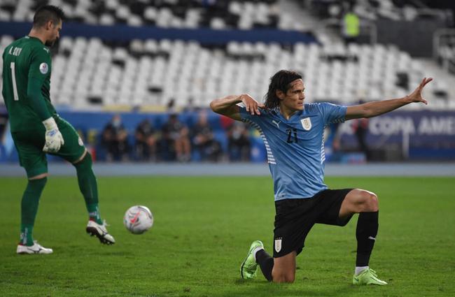 美洲杯-卡瓦尼点射绝杀 乌拉圭1-0巴拉圭