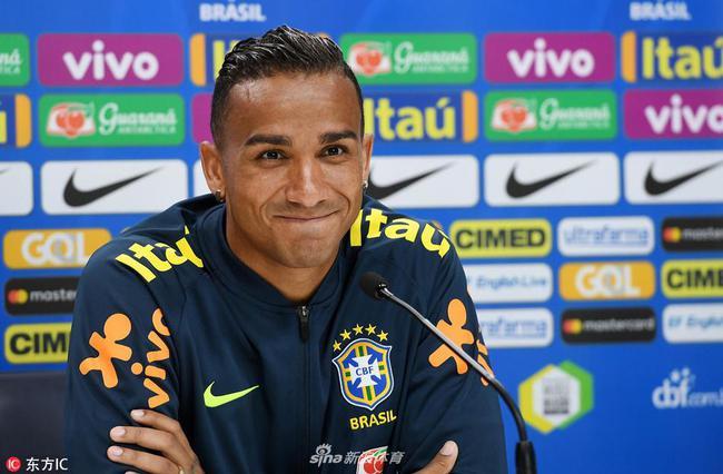 达尼洛将因伤缺席本届世界杯剩余的所有比赛
