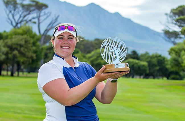喜欢丽丝-息森上周赢得南非女子公开赛