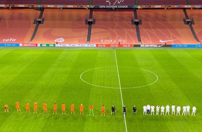 欧洲国家联赛A1组第5轮先赛1场,荷兰主场3比1打败波黑