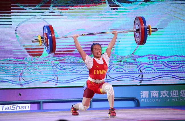 中国举重队公布世锦赛名单 世锦赛冠军蒋惠花领衔!