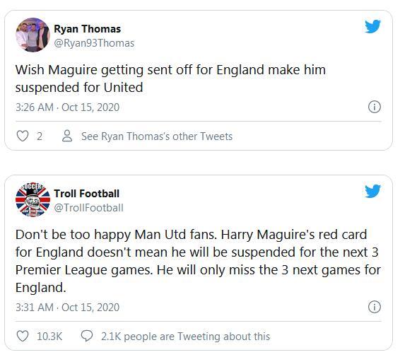 想让马奎尔在曼联也别上了