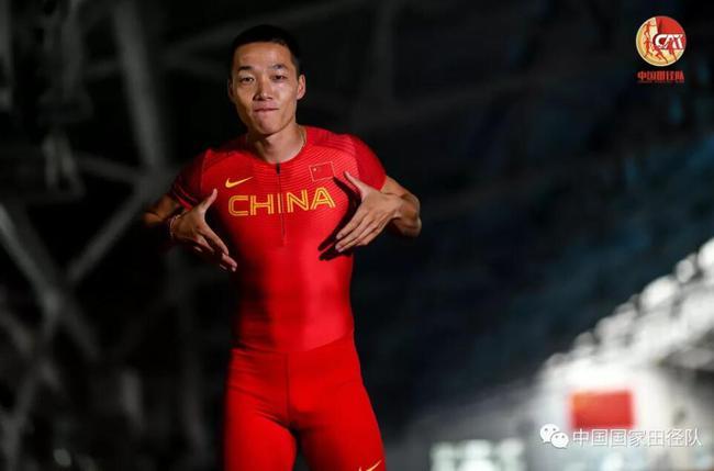 【博狗扑克】田径杭州站国手扬威百米决赛 吴智强10秒18夺冠