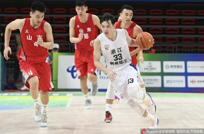 全运会男篮:一往吴前狂砍40分 浙江轻取山东