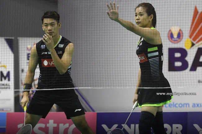 强敌退赛!马来西亚混双陈炳橓/吴柳莹要小心 目标竟是……