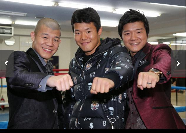 职业拳击龟田三兄弟