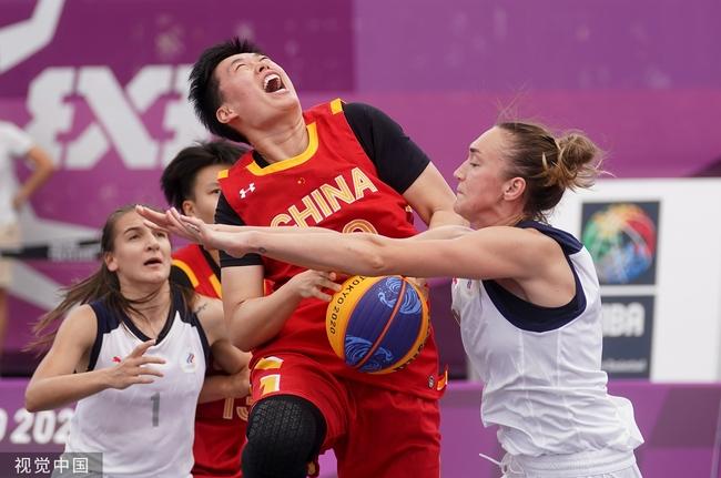 外线手感没能延续!中国三人女篮错过逆袭希望