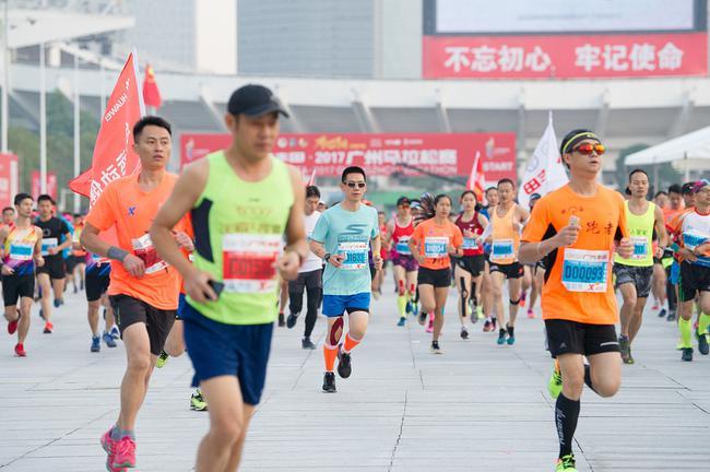 原料图:广州马拉松