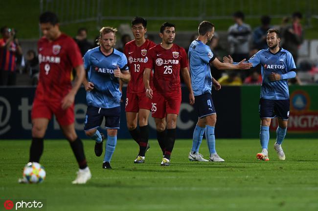 悉尼客场还是攻不破的堡垒 中超四队硬刚从没赢过