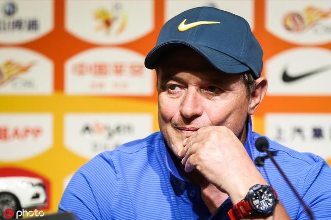 斯托:来上海是为了胜利 比赛会保持注意力高度集中