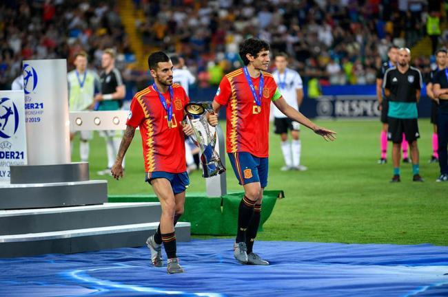 塞瓦略斯帮助西班牙U21夺冠