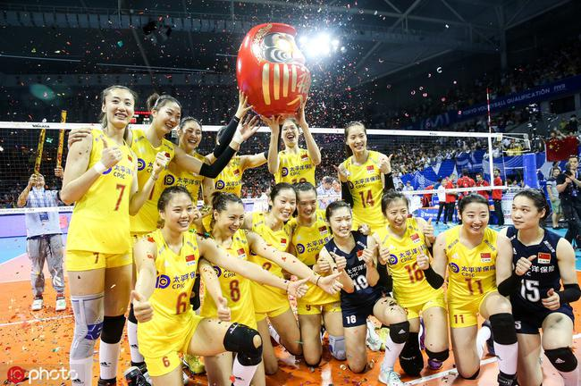 中國女排獲得奧運入場券