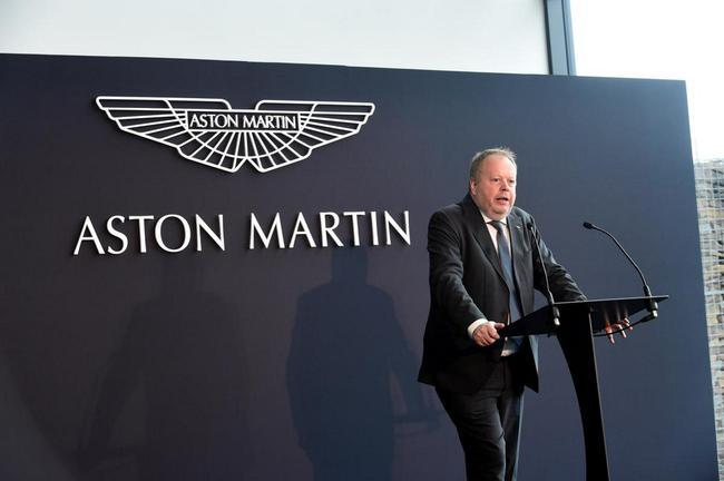 阿斯顿-马丁CEO安迪-帕尔默即将离任