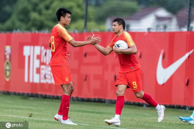 热身赛-董学升双响刘云艾克森破门 国足4-0胜申花