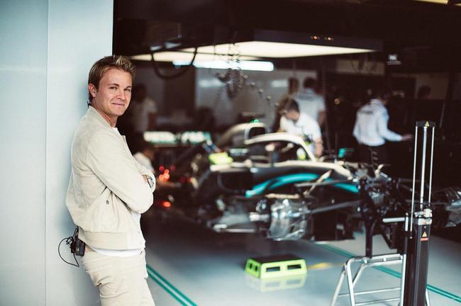 前F1世界冠军尼科-罗斯伯格