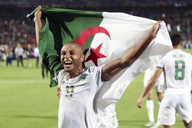 阿尔及利亚是卫冕冠军