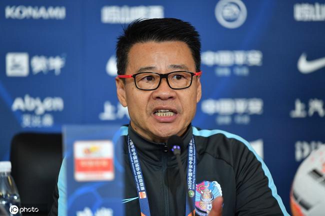 吴金贵:咱们的球员有勇气有胆量 感谢中国足协
