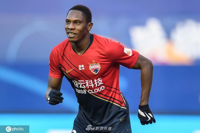 蝉联深圳射手王 马里平均96分钟进1球并列中超第3