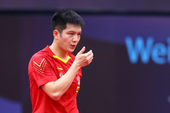 男乒世界杯樊振东4-0张禹珍 将与马龙抢夺冠军