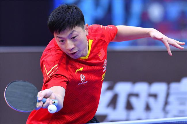 2020年乒乓球男人世界杯半决赛,马龙对阵张本智和