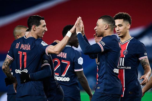 法甲-迪马利亚助攻姆巴佩 小将处子球 巴黎4-0胜
