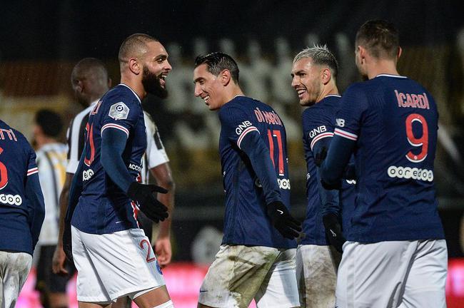 库尔扎瓦打入全场仅有进球,巴黎1-0击败昂热获得联赛两连胜
