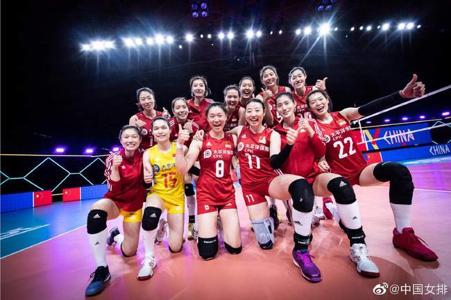 中国女排VS土耳其女排首发:林莉高意段放登场