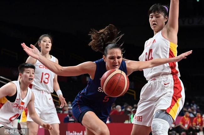 中国女篮上半场就失误12次 仍能抗衡塞尔维亚