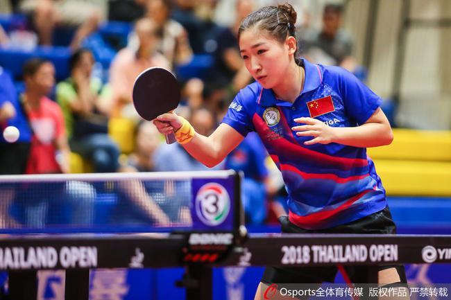 刘诗雯延续了泰国赛的状态