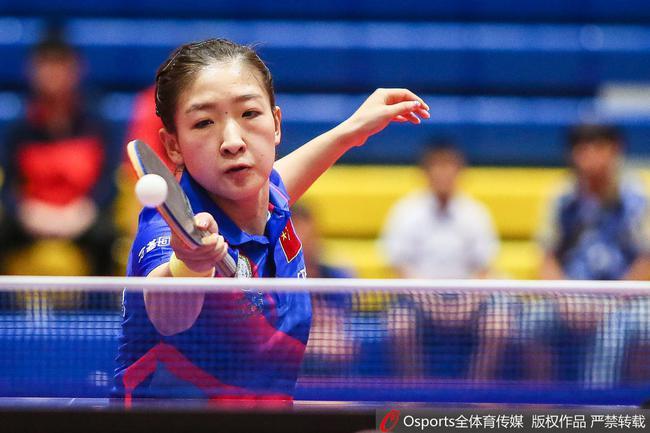 刘诗雯上周泰国赛夺冠
