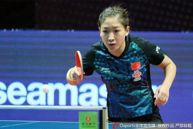 刘诗雯出战日本公开赛