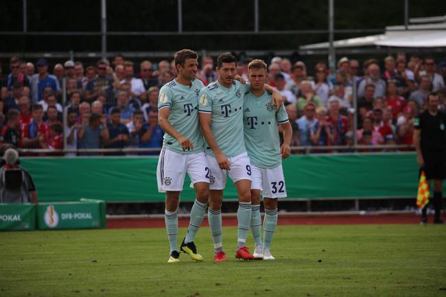 德国杯-新援助攻莱万绝杀 拜仁1-0艰难淘汰丁级队