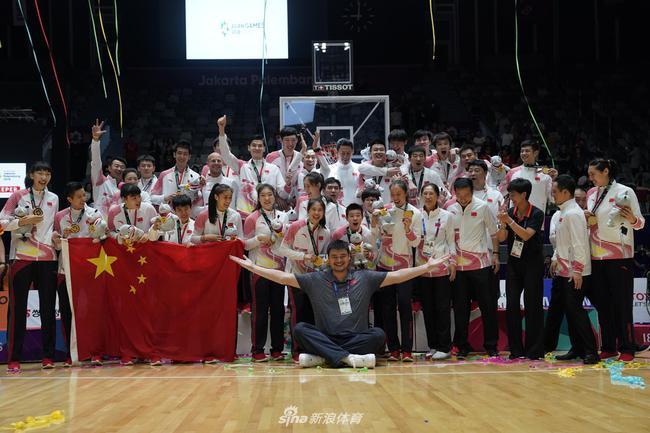 姚明带领 中国篮球包办4金