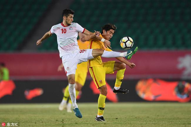 U21临时1-1塔吉克