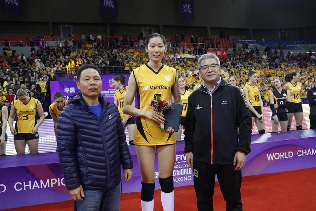 朱婷夺得MVP
