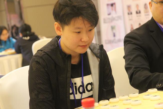 刘钰在比赛中