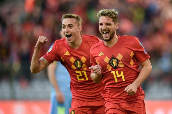 欧预赛-阿扎尔助攻 比利时3-0领跑 俄罗斯9-0狂胜