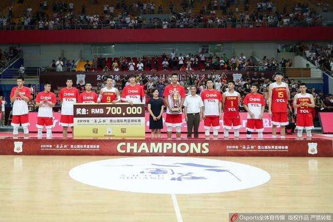 中国的男篮热身赛四连胜