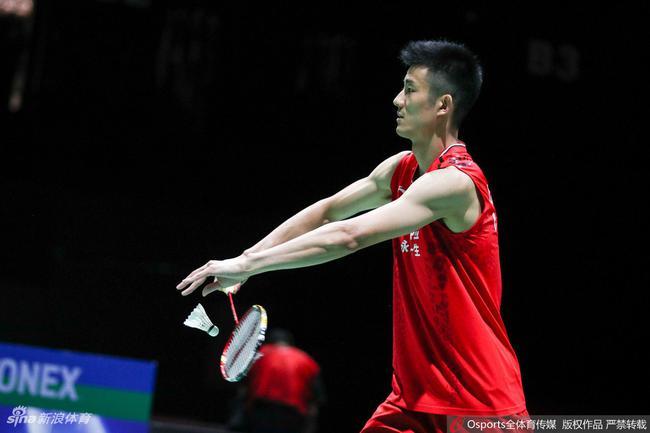 香港晋级  世锦赛国羽男单独苗谌龙进16强 将和伍家朗争8强