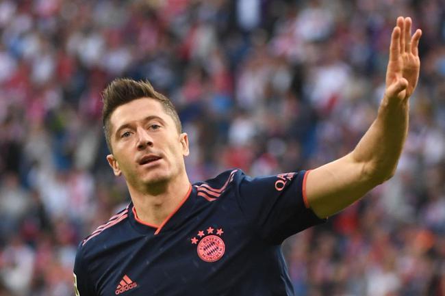 德甲-莱万153秒闪击科曼中楣 拜仁1-1客平莱比锡