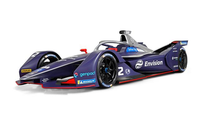 遠景維珍車隊電動方程式錦標賽第六賽季全新賽車涂裝亮相