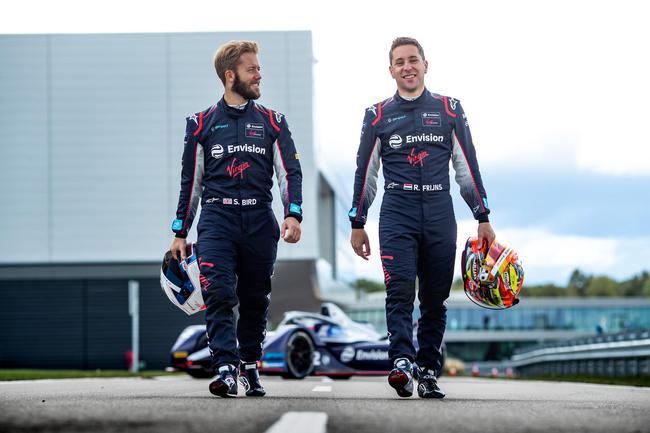 車手 Sam Bird 和 Robin Frijns 將繼續代表遠景維珍車隊出戰電動方程式第六賽季