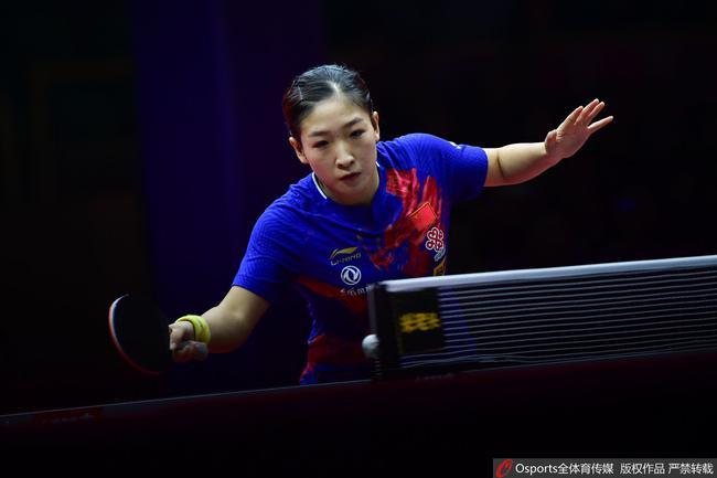 女乒世界杯历届冠军:刘诗雯五次