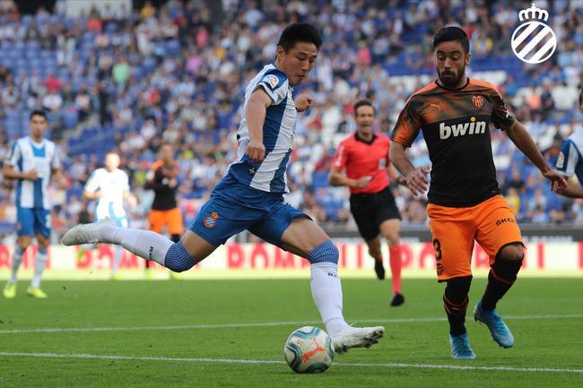西甲-武磊首发65分钟 西班牙人1-2遭逆转主场全负