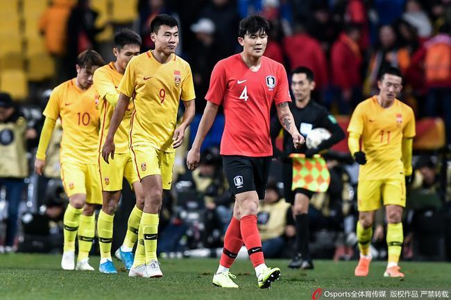 国足选拔队不敌韩国