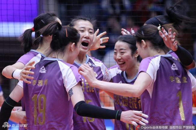 天津女排3-0上海女排