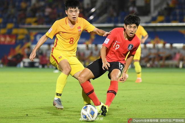 半场-张玉宁伤退陈威两扑保龙门 国奥暂0-0韩国