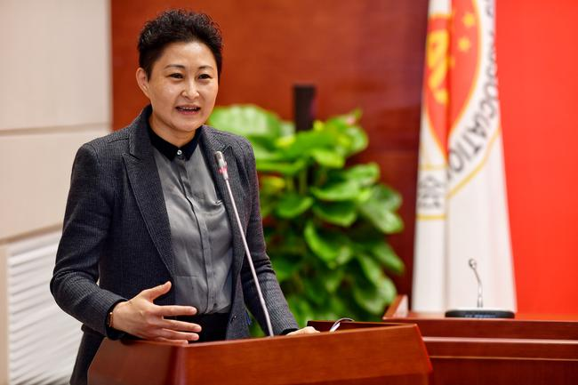 暗龙江省2018年局群体处处长姚伟丽