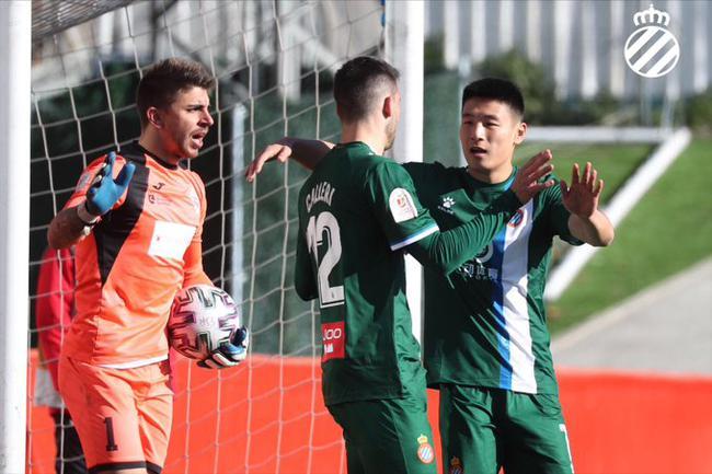 国王杯-武磊打满全场 锋线新援破门 西班牙人2-0